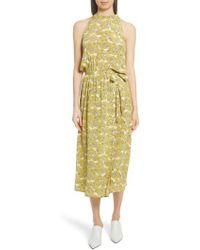 Robert Rodriguez - Dania Floral Print Dress - Lyst