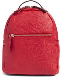 mali + lili Mali + Lili Vegan Leather Backpack - - Blue