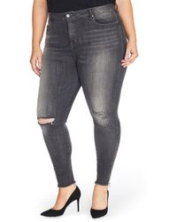 REBEL WILSON X ANGELS - The Icon High Rise Super Skinny Jeans - Lyst