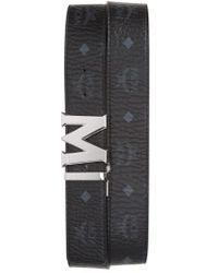 MCM - Reversible Signature Leather Belt - Lyst