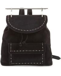 M2malletier | Mini Studded Suede Backpack | Lyst