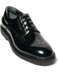 AllSaints Mak Plain Toe Derby - Black