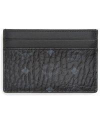 MCM - Logo Leather Card Case - Lyst