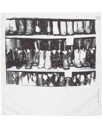 CALVIN KLEIN 205W39NYC - X Andy Warhol Foundation Boots Scarf - Lyst