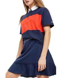 Tommy Hilfiger Bold Stripe Polo Mujer