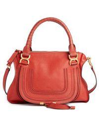 Chloé - 'medium Marcie' Leather Satchel - - Lyst