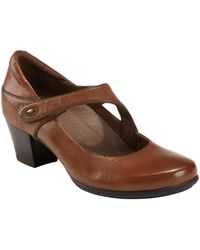 Earth Earth Calgery Montreal Pump - Brown