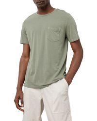 Rails Johnny Crewneck Pocket T-shirt - Green