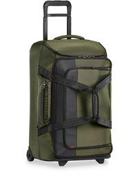 Briggs & Riley Medium 27-inch Rolling Duffle Bag - Green