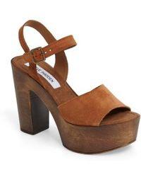 Steve Madden - Lulla Platform Sandal - Lyst