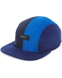 e4fffcf0 DSquared² Logo Patch On Corduroy Baseball Hat in Black for Men - Lyst