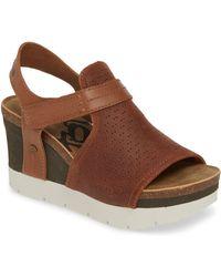 Otbt Waypoint Wedge Sandal - Brown