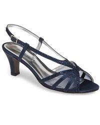 David Tate Refined Sandal - Blue