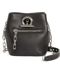 Alexander Wang - Riot Leather Crossbody Bag - Lyst