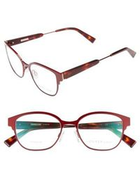 Derek Lam - 52mm Optical Glasses - Ruby - Lyst