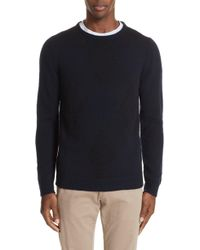 Boglioli - Trim Fit Crewneck Wool & Cashmere Sweater - Lyst