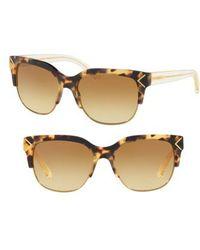 Tory Burch - 55mm Gradient Square Sunglasses - Lyst