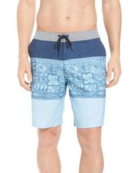 Quiksilver - Liberty Triblock Board Shorts - Lyst