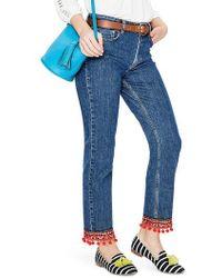 Boden - Cambridge Embellished Ankle Skimmer Jeans - Lyst