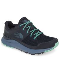 The North Face Vals Waterproof Hiking Shoe - Green