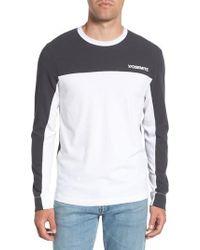 James Perse - Colorblock Motocross Shirt - Lyst