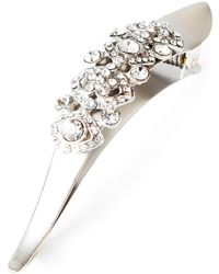 Ficcare 'maximus Victorian' Crystal Embellished Hair Clip - Metallic