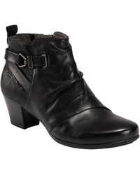 Earth Earth Calgery Halifax Bootie - Black