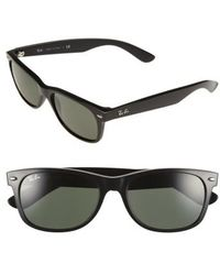 Ray-Ban - 'new Wayfarer' 55mm Sunglasses - Lyst