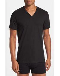 Calvin Klein - 2-pack Cotton T-shirt, Black - Lyst