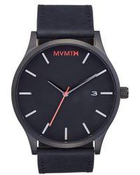 MVMT | Leather Strap Watch | Lyst