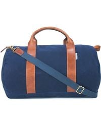 Boarding Pass Voyager Duffle Bag - - Blue