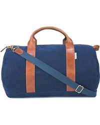 Boarding Pass Voyager Duffle Bag - Blue