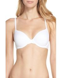 CALVIN KLEIN 205W39NYC - 'perfectly Fit - Modern' T-shirt Bra - Lyst