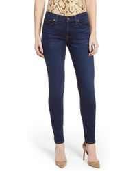 7 For All Mankind - 7 For All Mankind The Skinny Jeans - Lyst