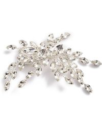 Brides & Hairpins Isadora Crystal Hair Clip - Metallic