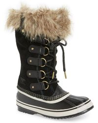 Sorel - 'joan Of Arctic' Waterproof Snow Boot - Lyst