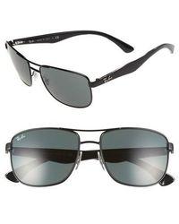 Ray-Ban - 57mm Aviator Sunglasses - - Lyst