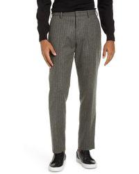 J.Crew - Ludlow Chalk Stripe Slim Fit Suit Pants - Lyst