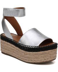 Sarto - Maisi Platform Espadrille Sandal - Lyst