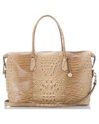 Brahmin 'duxbury' Leather Travel Bag - Multicolor