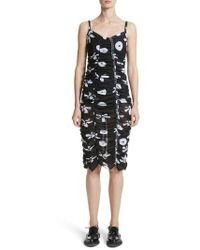 Molly Goddard - Scarlett Floral Print Mesh Dress - Lyst