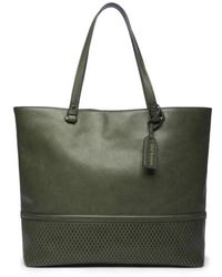 Sole Society - Oversize Faux Leather Tote - - Lyst