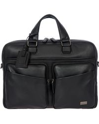 Bric's - Torino Leather Briefcase - - Lyst