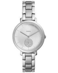 Fossil - Jacqueline Glitz Bracelet Watch - Lyst