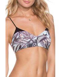Maaji - Afterlife Island Reversible Bikini Top - Lyst