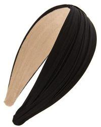 Tasha - Pleated Basic Headband - Lyst