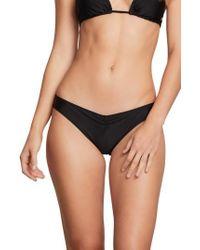 Volcom - Simply Solid V Cheeky Bikini Bottom - Lyst