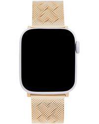Rebecca Minkoff Heart Apple Watch Bracelet - Metallic