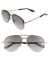 Givenchy - 62mm OverGold - Lyst