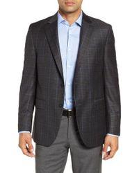 Peter Millar - Hyperlight Classic Fit Plaid Wool Sport Coat - Lyst